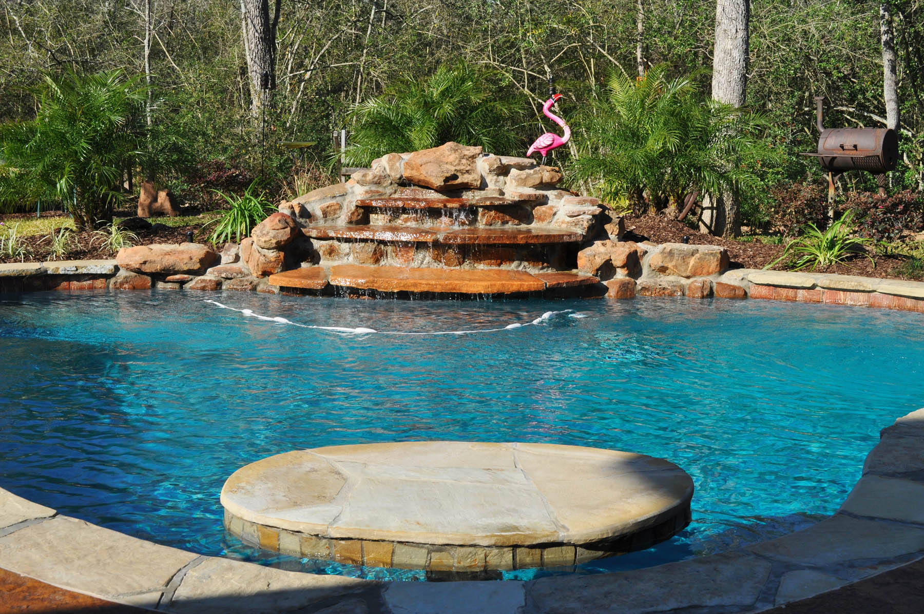 Bryan college station custom pool design photos brazos valley for Custom pools