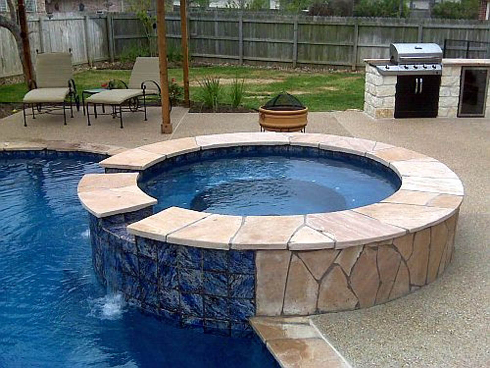 Outdoor Living photos Bryan College Station pool builder on Outdoor Living Pool And Spa id=99903