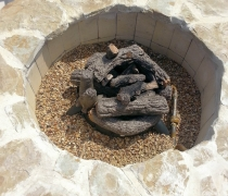 Gas-Burning-Flagstone-Pit