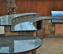 Granite-Stone-and-Stailess-Steel-Outdoor-Kitchen