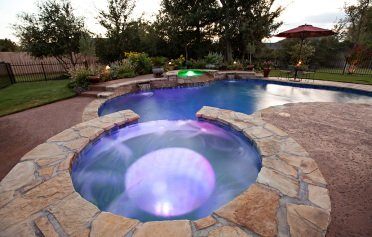 Pool Landscaping & Lighting