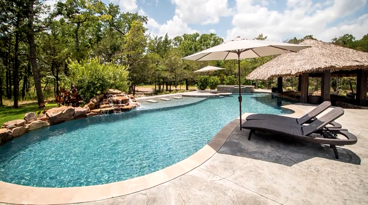 Brazos valley pool builder sunshine fun pools college - Swimming pools in college station tx ...