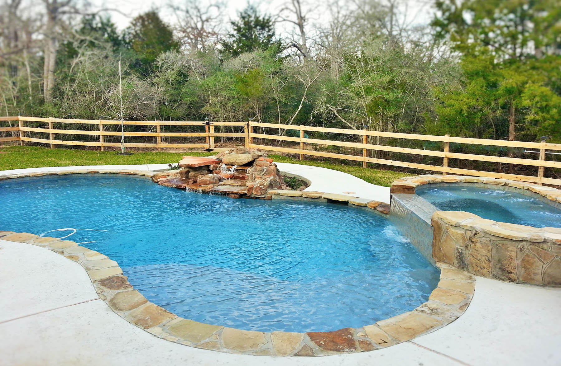 Swimming pool bryan college station brazos valley for Custom indoor pools